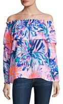 Lilly Pulitzer Dee Off-the-Shoulder Top