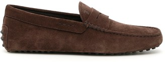 Tod's Suede Gommino Driving Loafers