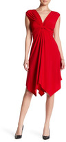 Just For Wraps Sleeveless Knot Dress