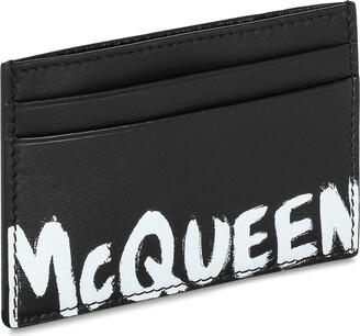 Alexander McQueen Card Holder Graffiti