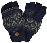 Muk Luks Sweater Vest Flip Glove for Men
