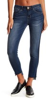 Jolt Side Pipe Raw Skinny Jeans (Juniors)