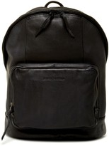 James Campbell Leather Backpack