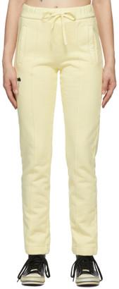 Palm Angels Yellow PXP Lounge Pants