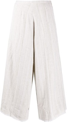 Forte Forte Cropped Wide Leg Trousers
