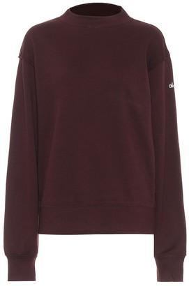 Alo Yoga Freestyle cotton-blend sweatshirt