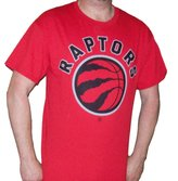 Sporticus Men's NBA Toronto Raptors Licensed Logo Basketball T-shirt (2XL)