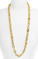 Michael Kors Long Logo Link Necklace