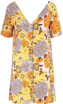 Glamorous Summer dress yellow