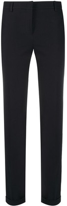 Incotex Cropped Straight-Leg Trousers