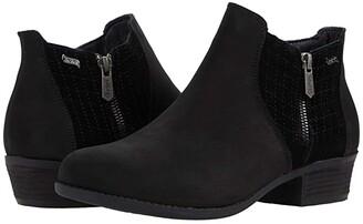 Skechers Arch Fit Lasso - Zipper (Black/Black) Women's Boots