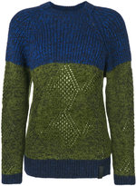 Kenzo striped knitted sweater