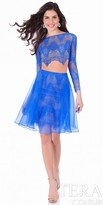 Terani Couture Two Piece Lace Organza Homecoming Dress