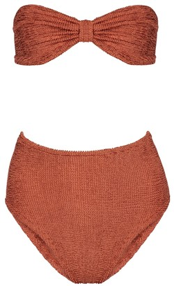 Hunza G Posey bandeau bikini