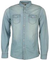 Soulcal Denim Shirt Mens