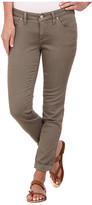 Jag Jeans Erin Cuffed Slim Ankle in Sand Stone