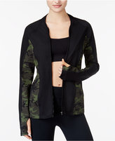 Jessica Simpson The Warmup Juniors' Mesh-Back Track Jacket