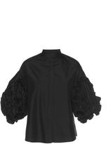 Dice Kayek Embellished Sleeve Shirt