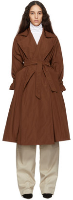 Max Mara Brown Uva Trench Coat