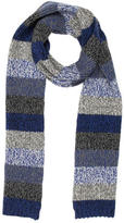 Jack Spade Patterned Striped Scarf