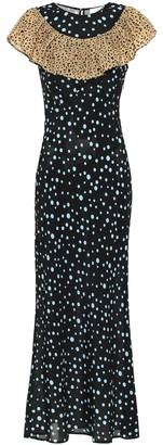 Rixo Lacey printed midi dress
