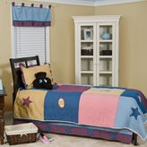 Pam Grace Creations Let's Play Ball 4-Piece Full/Queen Bedding Set