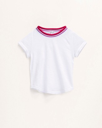 Splendid Baby Girl Yarn Dye Stripe Tee