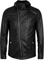Rick Owens Bullet Black Leather Jacket