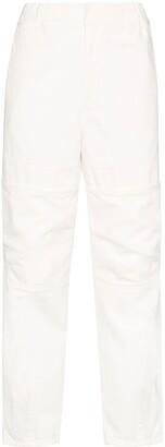 Ambush elasticated high-rise jeans