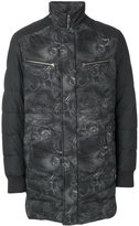 Etro embroidered padded coat