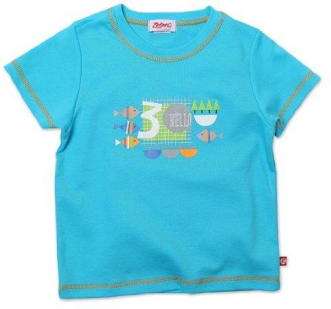 Zutano Boys 2-7 Hello Short Sleeve Screen T-Shirt