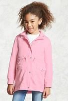Forever 21 FOREVER 21+ Girls Hooded Jacket (Kids)