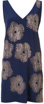 Trina Turk studded flower shift dress - women - Silk/Polyester - 6