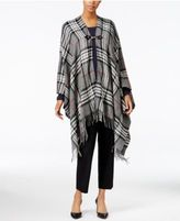 Charter Club Classic Plaid Poncho, Only at Macy's