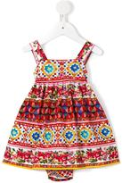 Dolce & Gabbana Mambo print dress - kids - Cotton - 9-12 mth