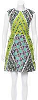 Peter Pilotto Patterned Silk Dress