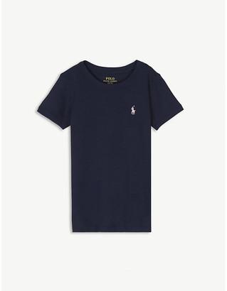 Ralph Lauren Logo cotton T-shirt 2-14 years