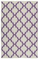 Kaleen Contemporary Rectangle Area Rug 2'x3' in Lilac Color From Brisa Collection
