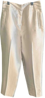 Topshop Tophop White Trousers for Women