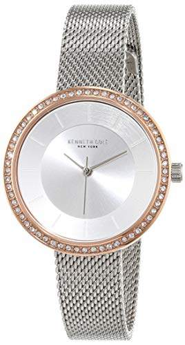 Kenneth Cole Womens Analogue Quartz Watch with Stainless Steel Strap KC50198001