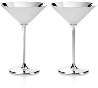 Silverplate Martini/Cocktail Glass
