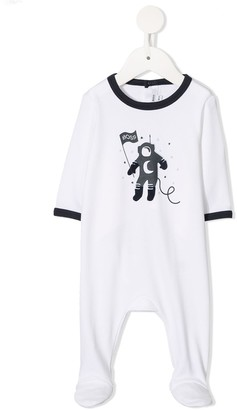 Boss Kids Cotton Spaceman Romper
