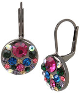 Betsey Johnson Confetti Multi Cluster Drop Earring