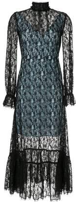 CK Calvin Klein sheer lace dress