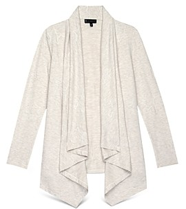Baobab Collection Amie Embroidered French Terry Cardigan