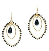 Mela Artisans Spirit in Onyx Earrings