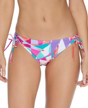 Thumbnail for your product : Raisins Juniors' Curtiba Sweet Side-Tie Bikini Bottoms Women's Swimsuit