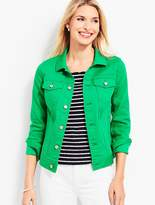 Talbots The Classic Denim Jacket-Colored