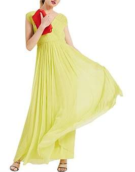 Phase Eight Marion Crinkle Maxi Dress