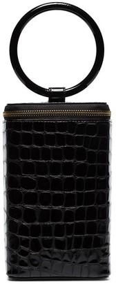 Tara Zadeh Mahin crocodile-embossed box bag